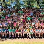 MAS DE 215 CHICOS EN COLONIA DE VACACIONES