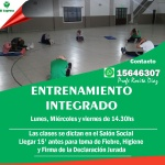 INSTAGRAM ENTRENAMIENTO INTEGRADO